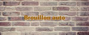 Brouillon auto